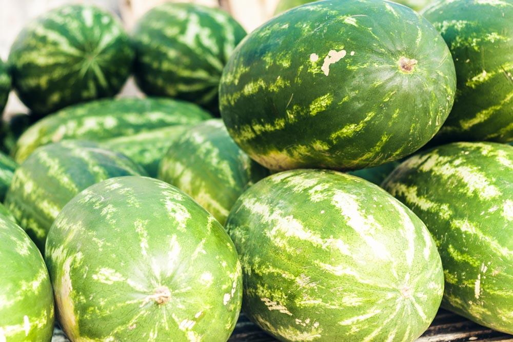 Wassermelonen aus Sizilien