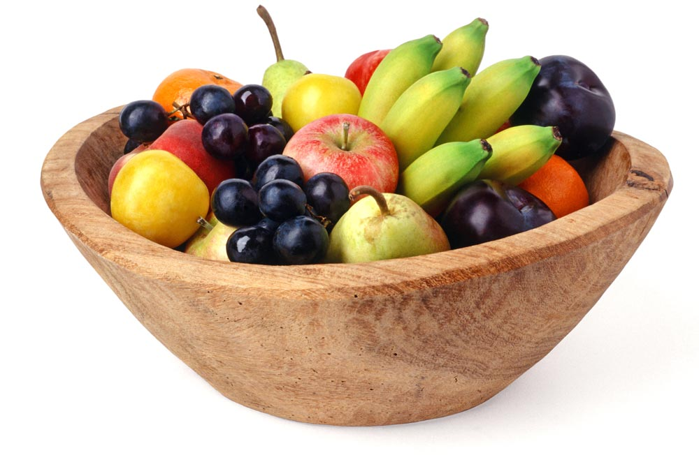 Obstschale mit verschiedenem Obst